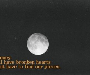 broken, broken hearts, and heart image