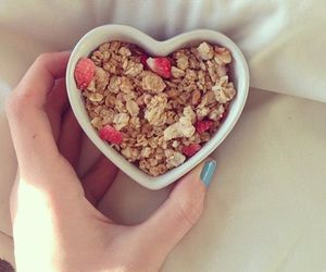 healthy, heart, and food image