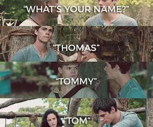 thomas, teresa, and newt image