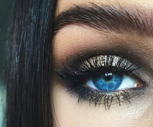 beautiful, beauty, and blue eyed image