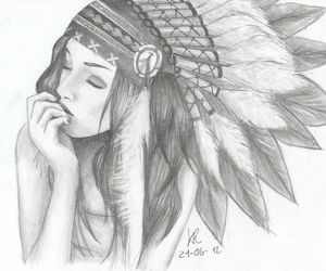 black and white, nice, and art image
