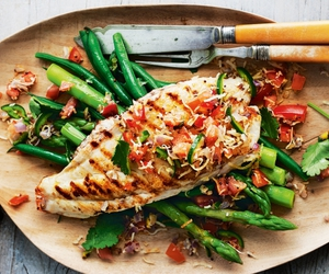 fish, food, and health image