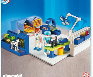 pets, playmobil, and vet image