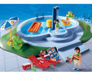 playmobil and swimming pool image