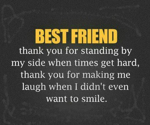 best friends, quotes, and smile image
