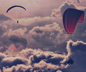 awesome, Dream, and cloudes image