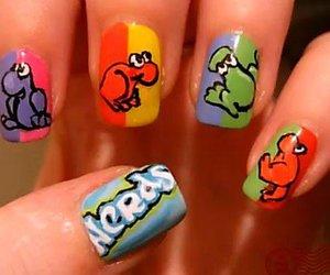 nails, nerd, and nail art image