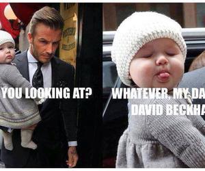 David Beckham, cute, and baby image