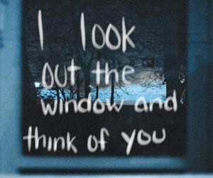 love, quote, and window image