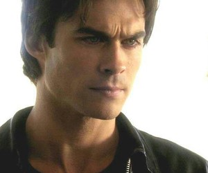 ian somerhalder, damon salvatore, and vampire image