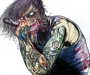 r.i.p, rock, and suicide silence image