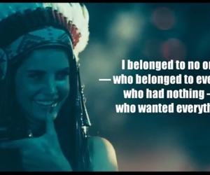 lana del rey, quote, and ride image