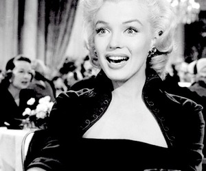 black&white, diva, and marylin image