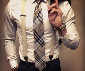 man and tie image