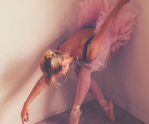 alone, ballet, and dancer image