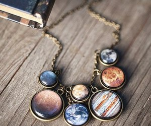 necklace and planet image