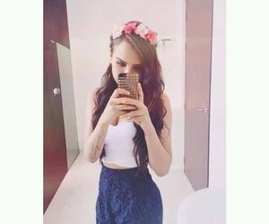 yuya, flowers, and hair image