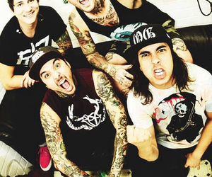 bands, emo, and pierce the veil image