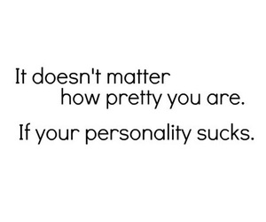 pretty, personality, and quotes image