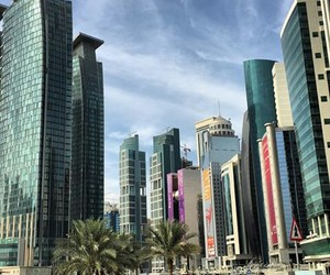 doha, qatar, and travel image