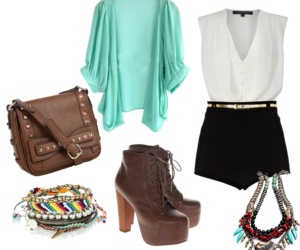 fashion, heels, and outfit image