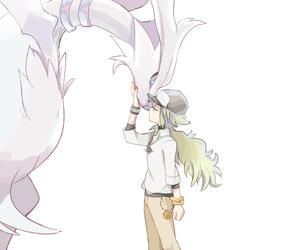 anime, n, and pokeball image