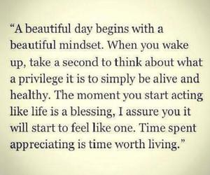 beautiful day, blessing, and be alive image