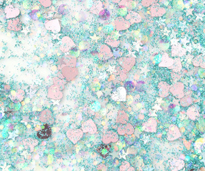 glitter, stars, and pastel image