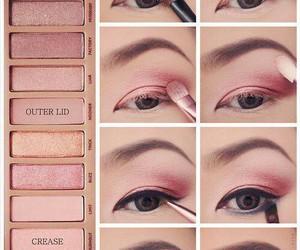 eyes, make up, and girls image