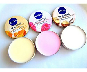 lips, nivea, and pink image