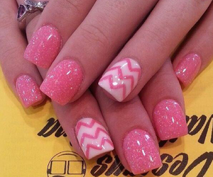 nails, precious, and pink image