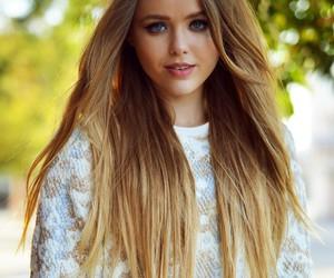 blonde, hair, and kayture image