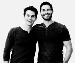 teen wolf, dylan o'brien, and tyler hoechlin image