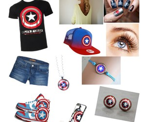 accesories, Avengers, and captain america image