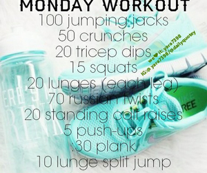 workout and fit image