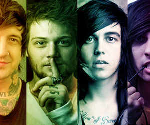 vic fuentes, kellin quinn, and asking alexandria image