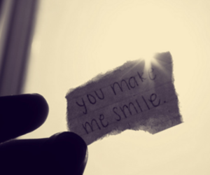 qoutes, me smile, and you make image