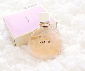 chanel, girl, and perfume image