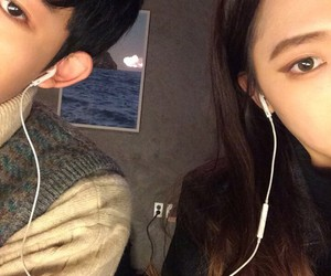 asian, ulzzang, and couple image