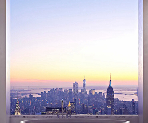 city, Dream, and sky image
