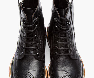 rock style, fashion, and mans shoes image