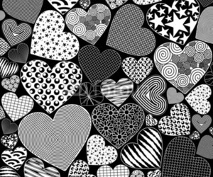 hearts, love, and valentine image