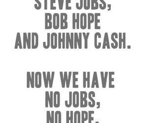 Steve Jobs, bob hope, and cash image