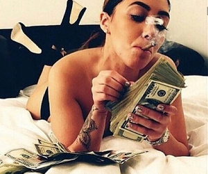 420, bitch, and goals image