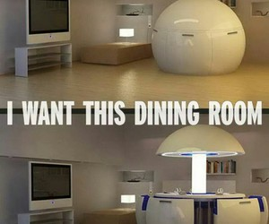 room, cool, and dining room image