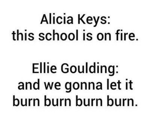fire, alicia keys, and alicia image