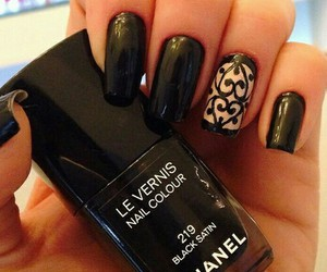 nails, chanel, and beautiful image