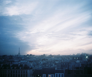 paris and sky image