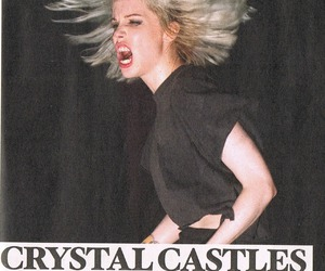 Alice Glass, Crystal Castles, and electronic image