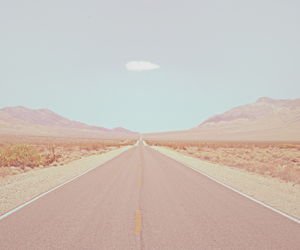 road, sky, and nature image